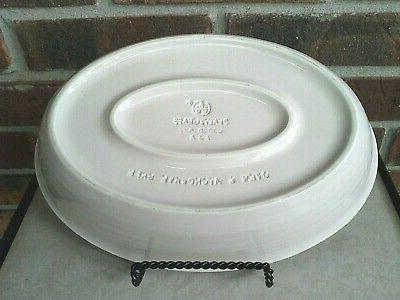 "Pfaltzgraff 10"" Oval Dish Oven Microwave"