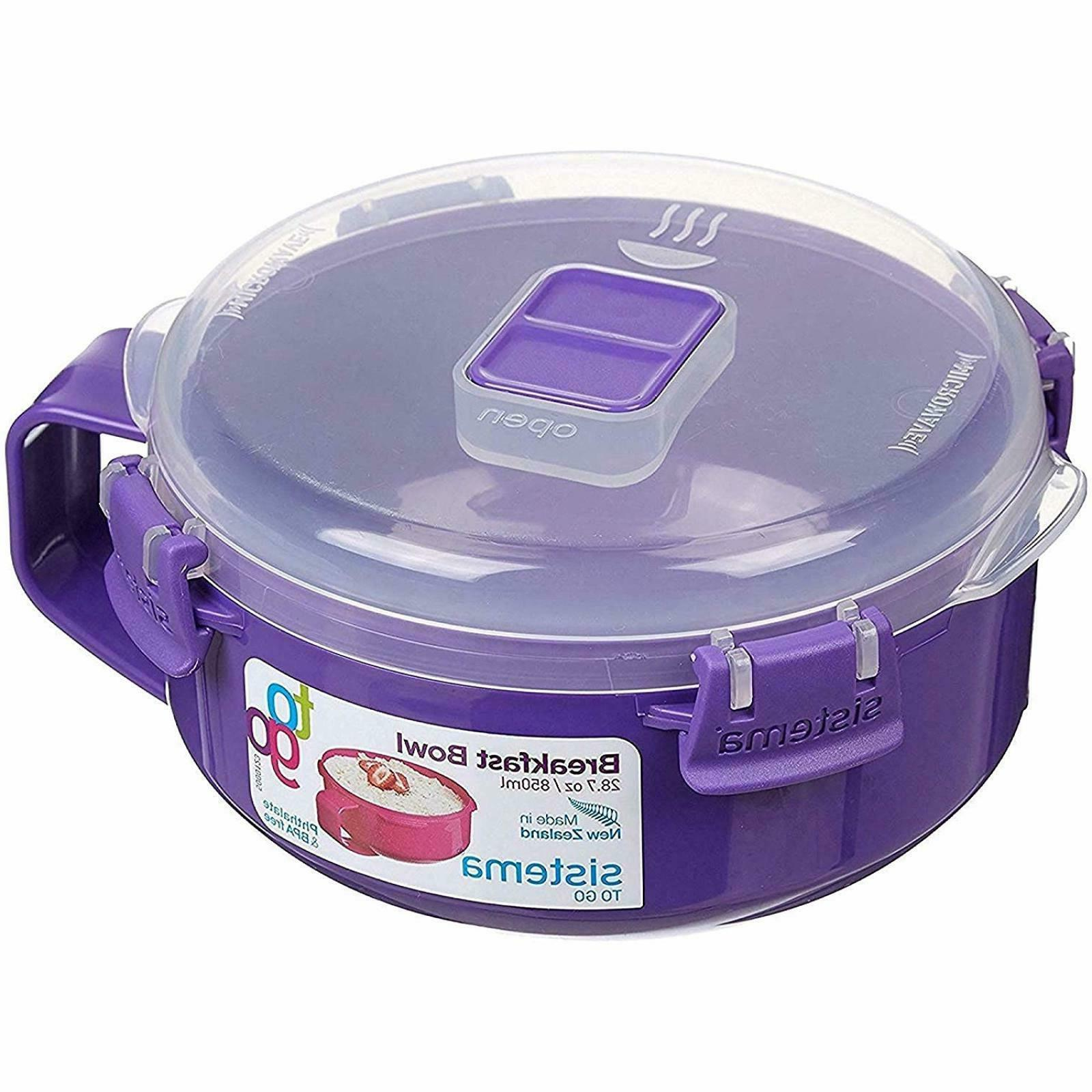 Sistema To Go Collection Microwave Breakfast Bowl, 28.7 oz./