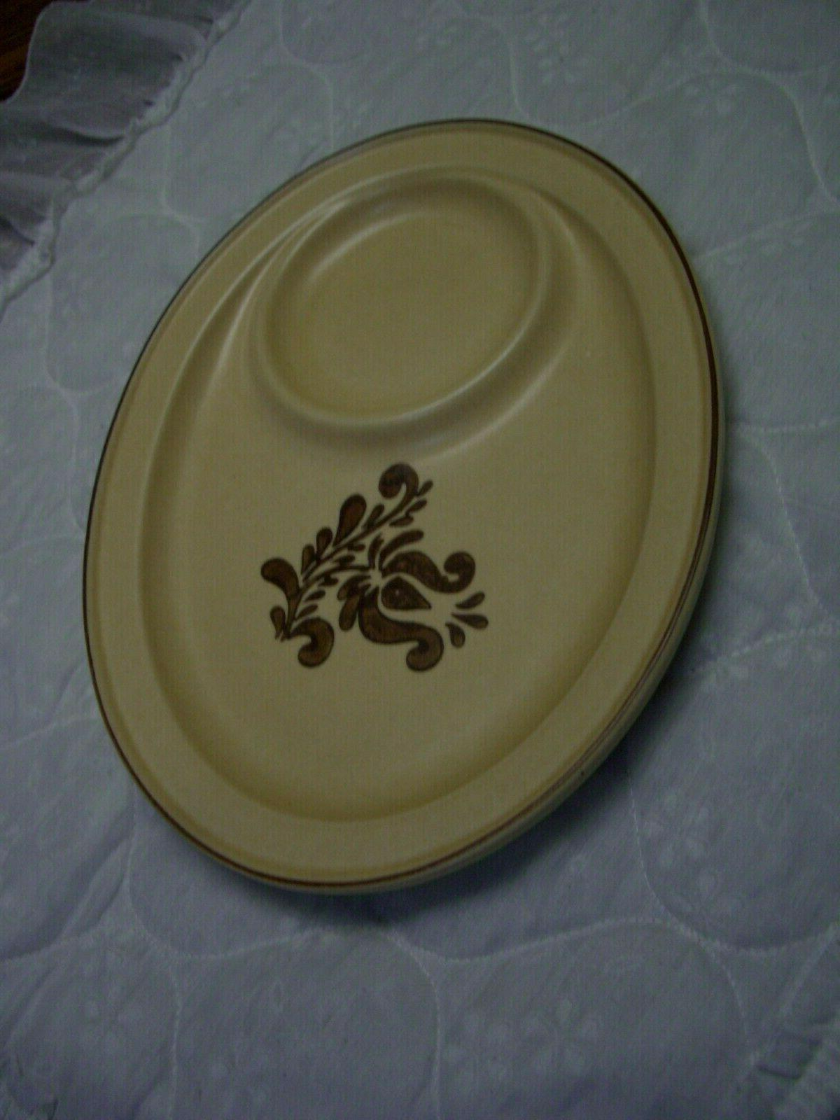 Oval Snack Tray/Oven Microwave
