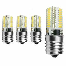 Light.Key 4pcs Pack Dimmable E17 LED Bulb 4 Watt Warm White