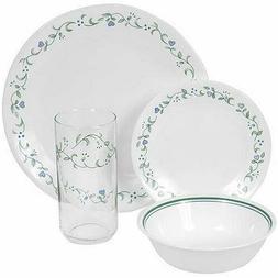 Corelle Livingware 16-Piece Dinnerware Set, Country Cottage,