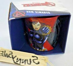 Vandor Marvel Black Widow 12-Ounce Ceramic Mug