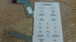 Samsung Maytag Microwave Keypad DE34-00199B