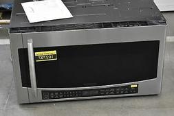 "Samsung MC17J8000CS 30"" Stainless Over-The-Range Microwave N"