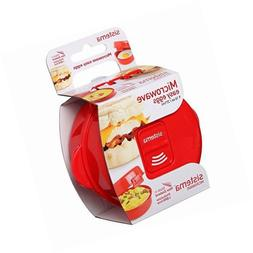 Sistema Microwave Collection Noodle Bowl, Red, 9.16 Oz