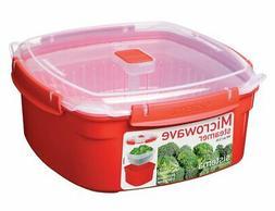 Sistema Microwave Cookware Steamer, Large, 109 Ounce/ 13.625