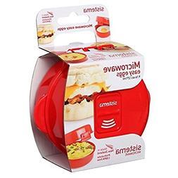 Sistema Microwave Easy Eggs Cooker Poached Scrambled Omelett