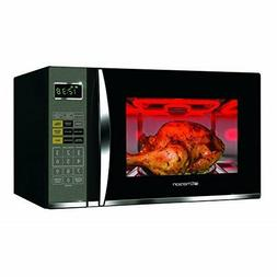 1.2 cu ft Microwave Grill Black Kitchen Appliance Heater Cou
