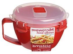 Sistema Microwave Noodle Bowl Pasta Soup Spaghett 940ml Cont