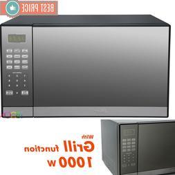 Oster Microwave Oven CounterTop Stainless Steel Mirror Digit