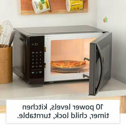 Microwave Oven Steel Kitchen Display 700w Space Saver 0.7 cu