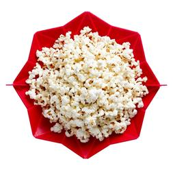 Microwave Popcorn Maker Vibe by Chef'n  Cherry Red Color