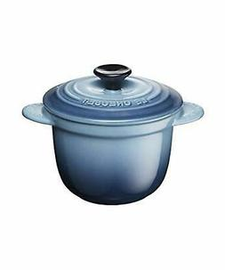 NEW Le Creuset Soup Bowl Stoneware 580ml Blue Microwave oven