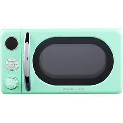 Galanz - Retro 0.7 Cu. Ft. Microwave - Surf Green
