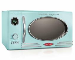 Nostalgia RMO4AQ Retro 800-Watt Countertop Microwave Oven, 0