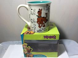 scooby doo model sheet mug new in
