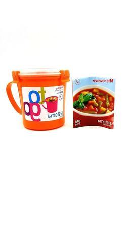Sistema Soup Mug To Go  Brand New Microwave Safe BPA Free