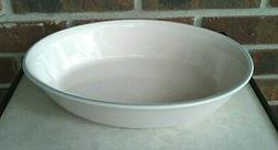 stoneware aura pink 10 oval baking serving