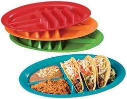 Taco Plates - Set of 4