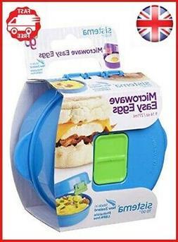 Sistema To Go Microwave Egg Cooker Easy Eggs, 270 ml - Assor
